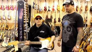 Elliot Easton at Norman's Rare Guitars