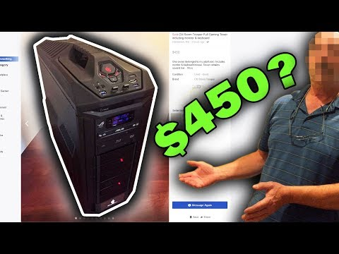 Dad Sells Me his Sons Gaming PC (Not what I expected...)