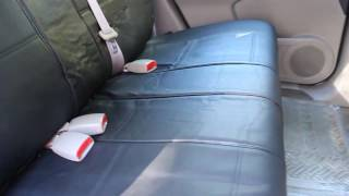 REVIEW of PU Leather Car Seat Cover