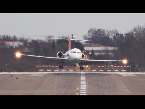 Crosswind Landings at Hannover Airport HAJ