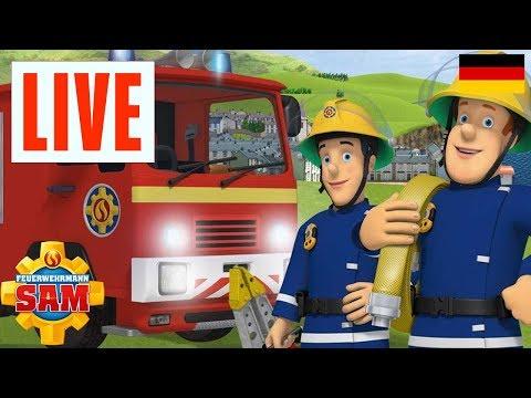 Feuerwehrmann Sam Deutsch Neue Folgen | LIVE 🔴  Feuerwehrmann Sam's beste Rettungsaktionen