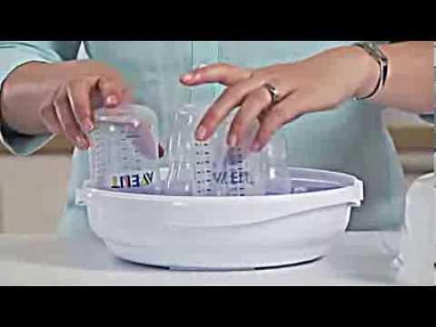 6e9edf06d Esterilizador de Microondas - Philips AVENT - YouTube