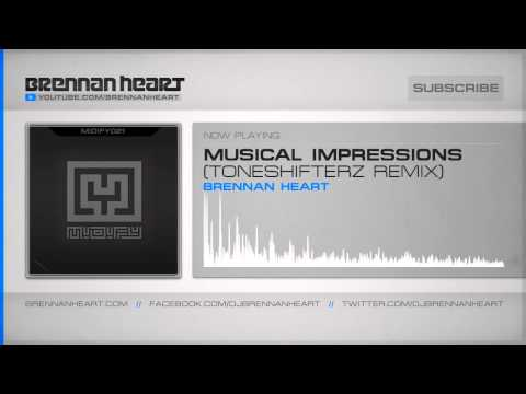 Brennan Heart - Musical Impressions (Toneshifterz Remix) (HQ Preview)