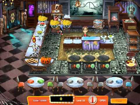 Cooking Dash 3: Thrills And Spills - Expert Mode Level 27 & 28