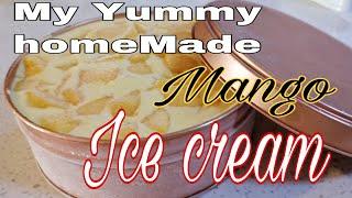 HomeMade Mango IceCream