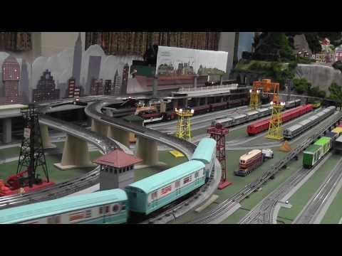 Toy Train and Subway Layout in HD