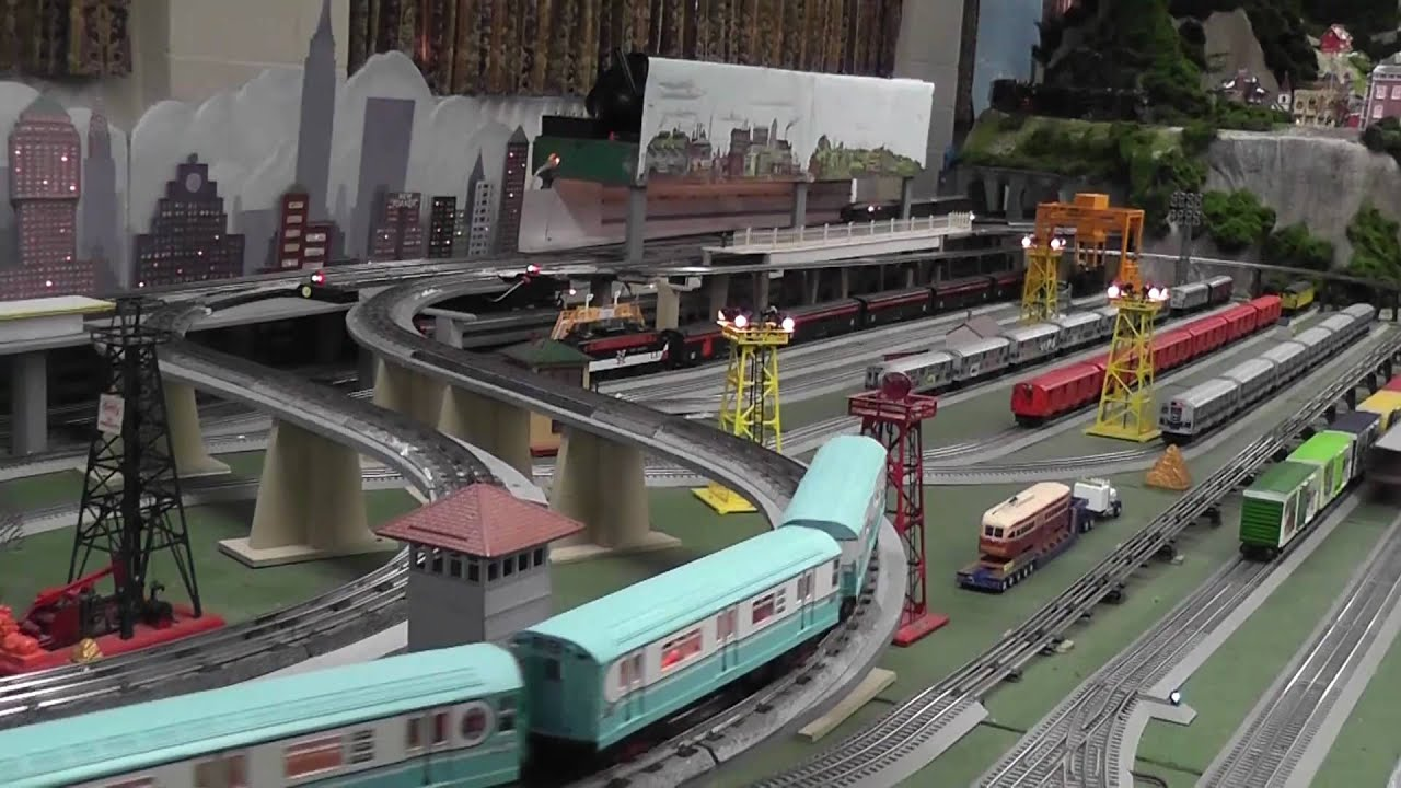 Bohemia Wallpaper 3d Toy Train And Subway Layout In Hd Youtube
