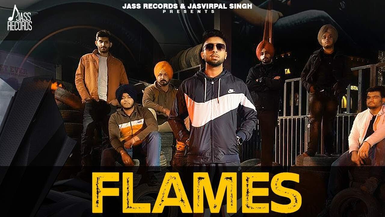 Flames | (Official Video) | Manmeet Maan | R Guru | New Punjabi Songs 2021 | Jass Records