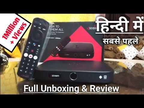 Airtel Xstream 4K Set Top Box Unboxing & Review In Hindi | Airtel Xstream Box Review हिन्दी में