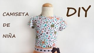 Costura: Como hacer una camiseta de niña