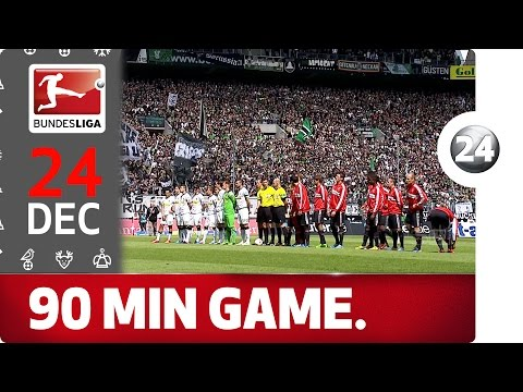 Full Bundesliga Match: Gladbach vs. Bayern - Bundesliga 2016 Advent Calendar 24