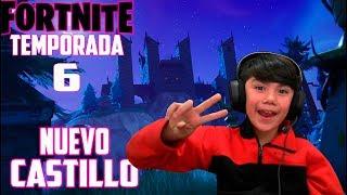 * NUEVO CASTILLO * TEMPORADA 6 FORTNITE CHILE. SORTEO PLAYERA FORTNITE