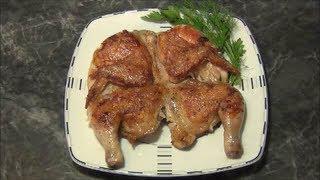 Цыплёнок табака, простой Рецепт