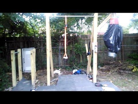 my backyard gym  youtube