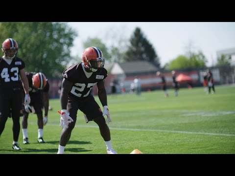 Browns Rookie Minicamp 2017: Day 2 Action