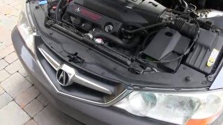 Replacing Headlight Housing & Ballast on a 2003 Acura TL-S