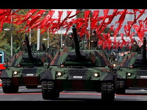 Turkey flexes military muscles in Republic Day parade in Ankara