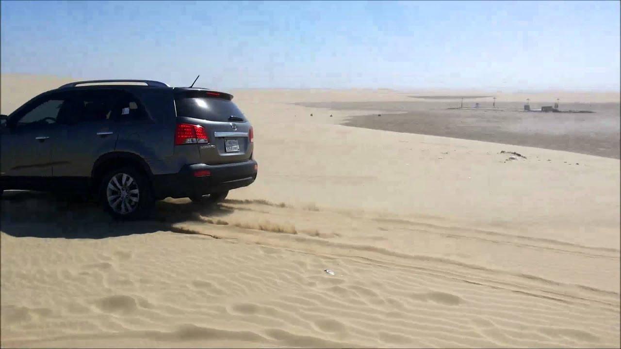 KIA Sorento 2012   Sand Dunes Climbing