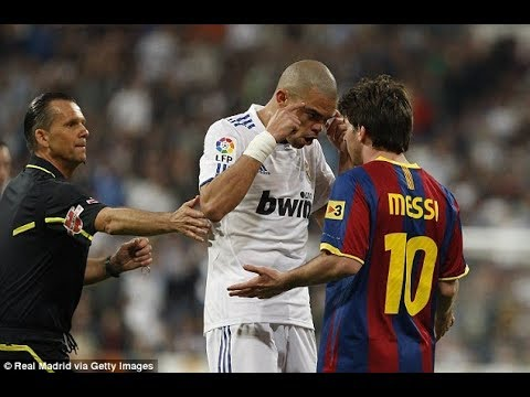 When Lionel Messi took a revenge on Pepe! ►HD