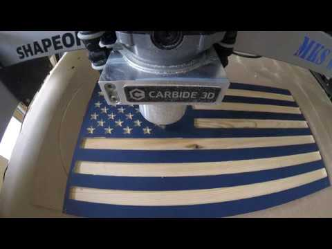 The making of the Pledge of Allegiance Flag - MKS WOOD