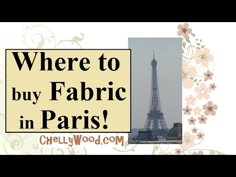 Where to Shop for Fabric in Paris