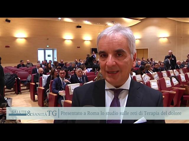 TG Salute&Sanità | TERAPIA DEL DOLORE ROMA