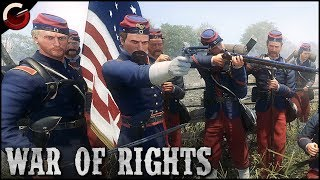 AMERICAN CIVIL WAR! Massive Multiplayer Battle Event | War Of Rights Gameplay