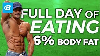 Full Day of Eating at 6% BODY FAT (All Meals Shown) | Brian DeCosta