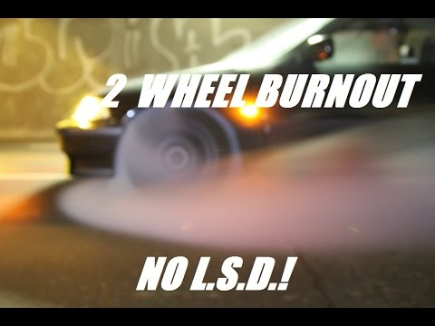 Doing A Two Wheel Burnout In An EF Without A Limited Slip Diff | Themidnightgarage #8
