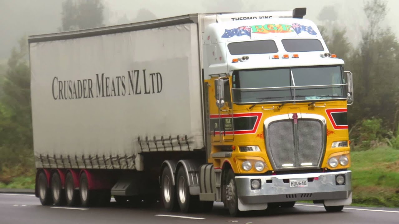 Trucks New Zealand - Kenworth - YouTube