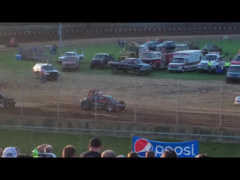 Shawn Swim 12 WingLESS Sprint 9/1/19 Angell Park Speedway Heat 4