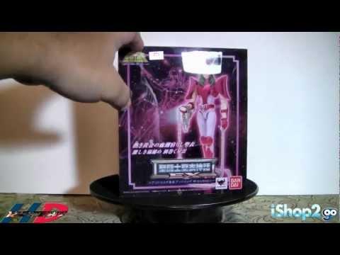 Saint Seiya Myth Cloth EX Andromeda Shun Review [Full HD]