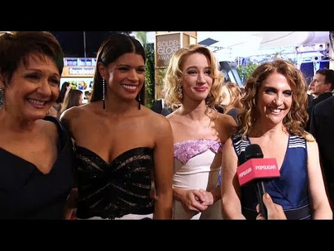 Jane the Virgin Cast Reveals When Jane's Baby Is Due at the Golden Globes!