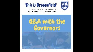 This is Broomfield - Q&A with the Governors