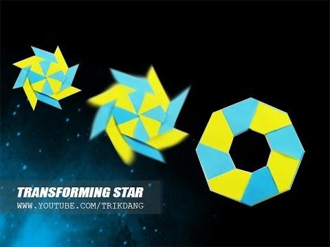 Math Art Awesomeness: Make a Transforming Ninja Star | 360x480