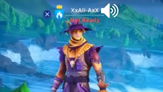 I Used A Voice Changer As Ali-A in Fortnite...