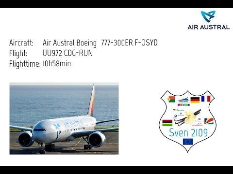 FSX SE | Air Austral Boeing 777-300 ✈ Paris CDG [LFPG] ✈ La Reunion Saint Denis [FMEE]