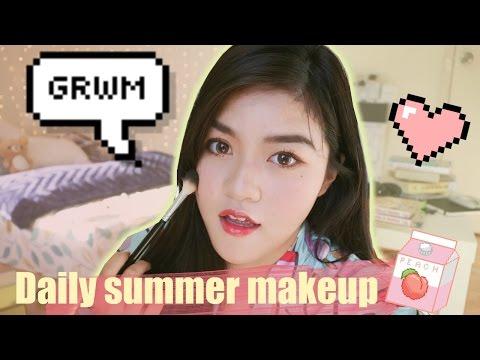 GRWM 🐤 Daily Summer Makeup☀️ Trang điểm đơn giản hằng ngày☀️