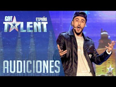 Un rapero multi funcciones | Audiciones 2 | Got Talent España 2016