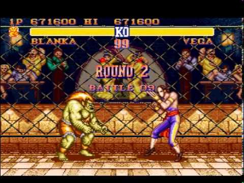 Street Fighter II - The World Warrior (SNES) - Blanka (Hardest)
