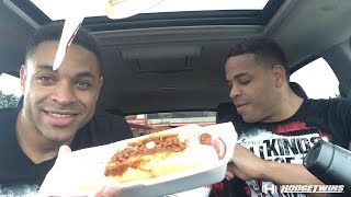 Rally's Chili Hot Dogs & Oreo Sundae Are Delicious  @hodgetwins