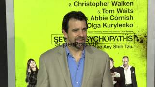 Joseph Lyle Taylor at Seven Psychopaths Los Angeles Premi...