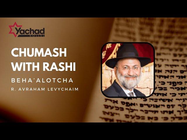Chumash with Rashi - Beha'alotcha - R. Avraham Levychaim