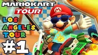 Mario Kart Tour: NEW Los Angeles Tour is finally here!! - Part 1