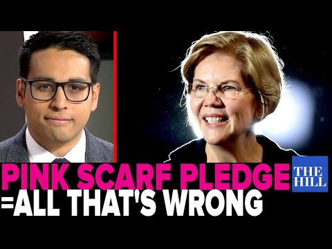 Saagar Enjeti: Warren's 'pink scarf' pledge is everything that's wrong with her