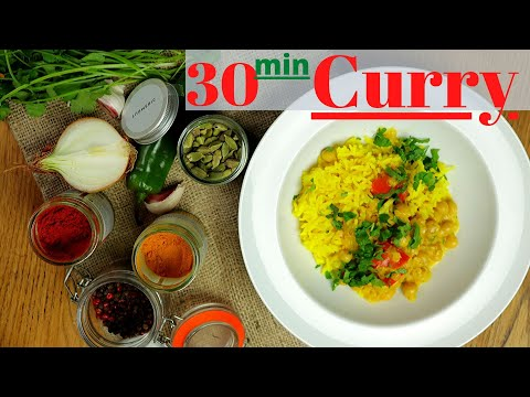 Lentil and Chickpea Curry 30 min Recipe