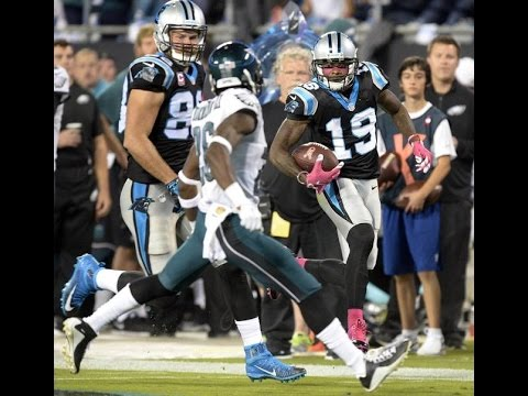 Ted Ginn Highlights 74 Yard TD Catch From Cam Newton