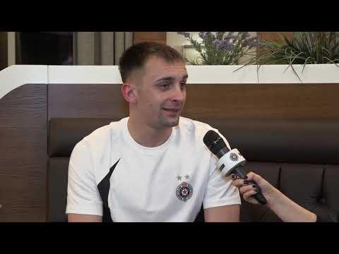 Intervju Sa Bojanom Matićem, Novim Pojačanjem FK Partizan