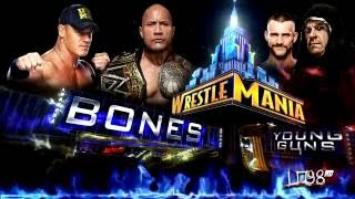 "WWE:Wrestlemania 29 Theme Song:""Bones"" (iTunes Release) + Download Link"