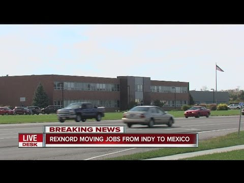 Rexnord moving jobs from Indy to Mexico